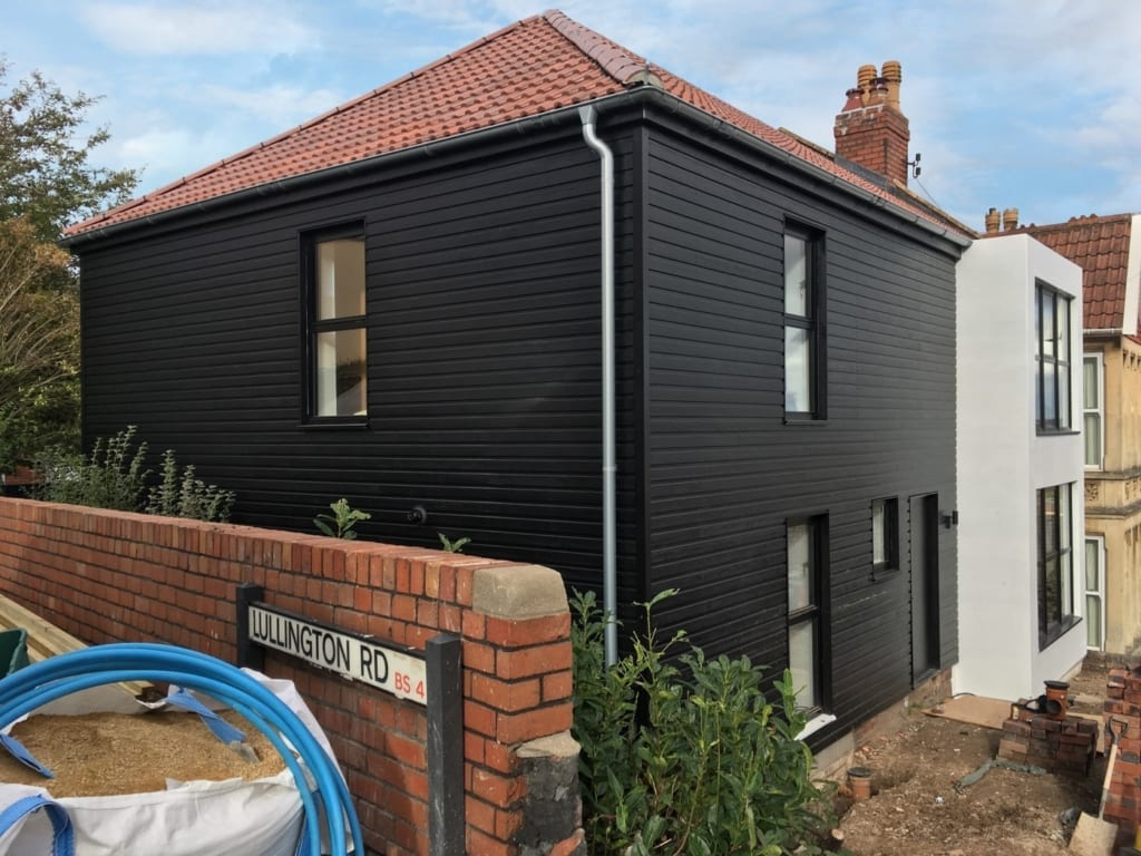 Remodel and extension of dwelling