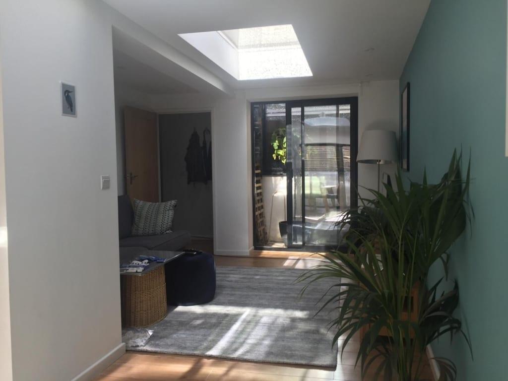 Kitchen extension to ground floor flat