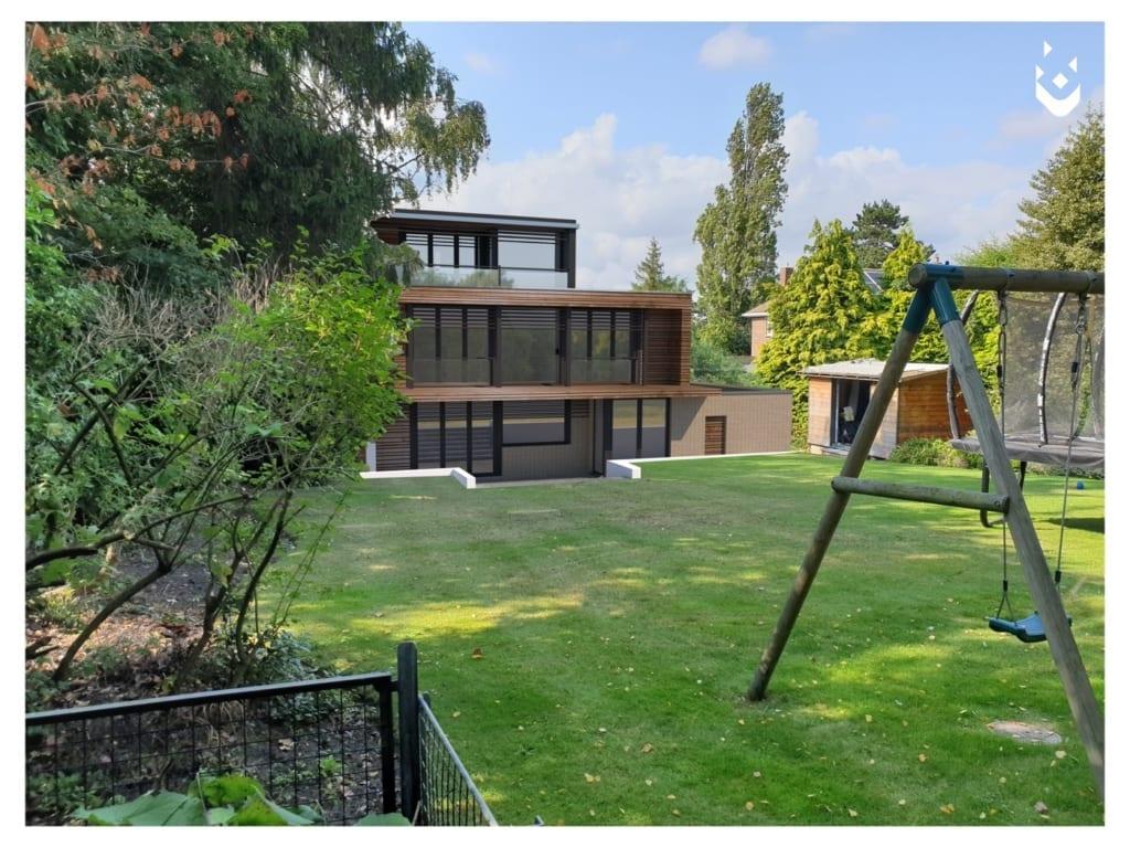 External visual of new modern detached dwelling